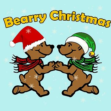 Bearry Christmas- Funny Gift for Bears Lovers!!! by lovelypresents