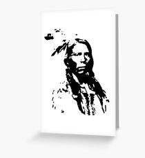 Lakota Sioux Native American Indian Pride Warrior History Greeting Card