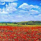 Poppies by DiegoByrnesArt