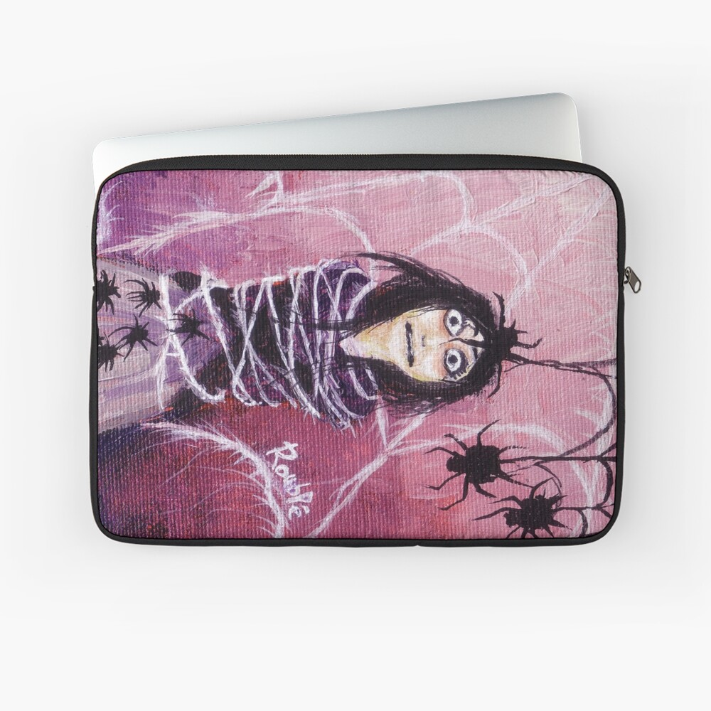 THE FEAR TAKES HOLD Laptop Sleeve