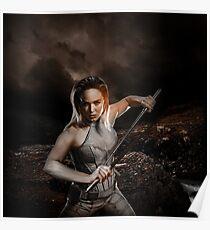 White Canary - Sara Lance Poster