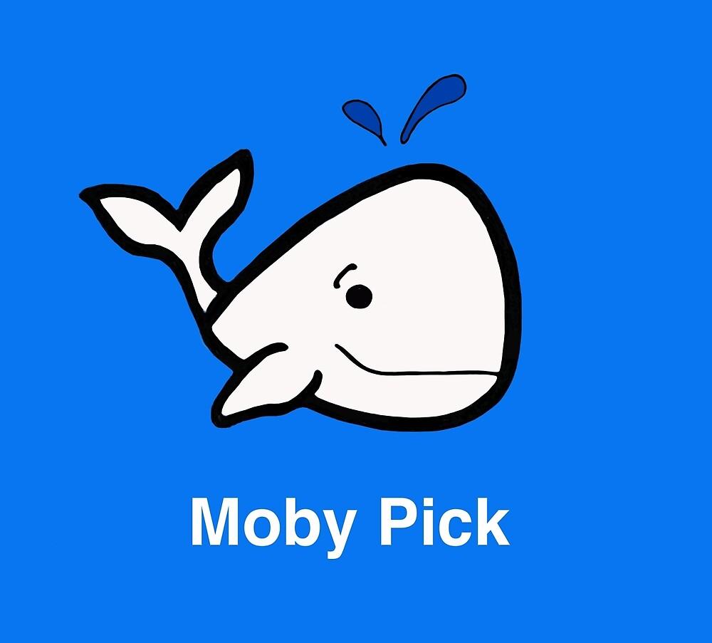 Moby Pick - Guitar Pick Shirt by alittlebluesky