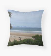 Waratah Bay Throw Pillow