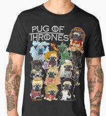 Pug of Thrones Men's Premium T-Shirt