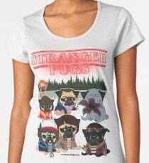 STRANGER PUGS Women's Premium T-Shirt