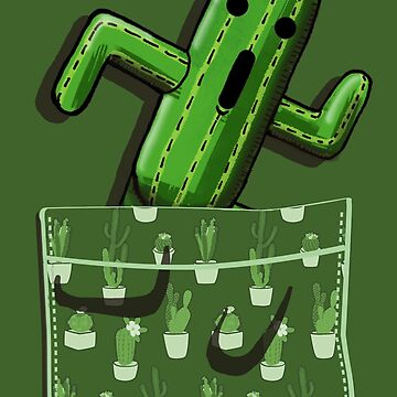 A Cactuar in your pocket! by AlexRoivas