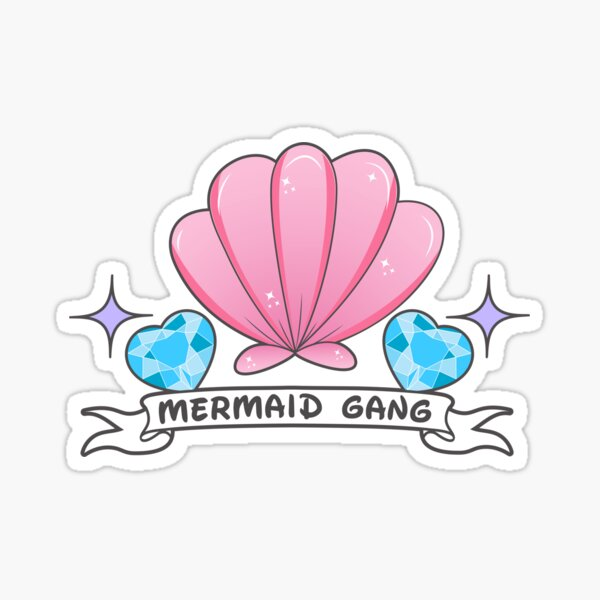 Mermaid Gang Sticker
