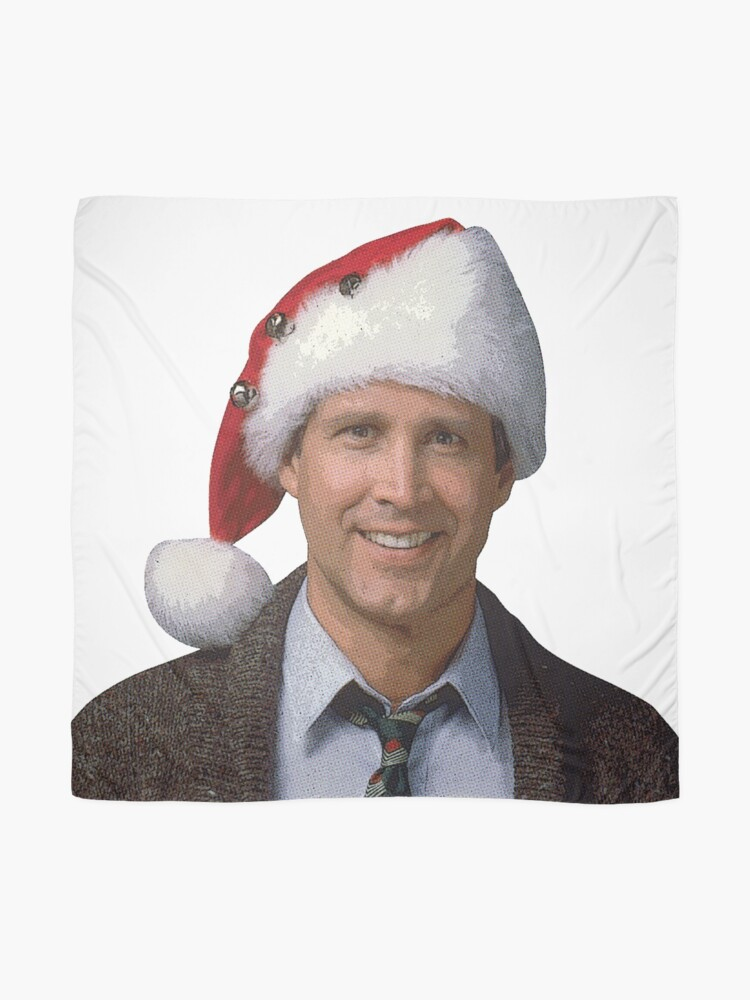 Alternate view of Clark Griswold National Lampoon's 1989 Christmas Vacation movie santa hat Scarf