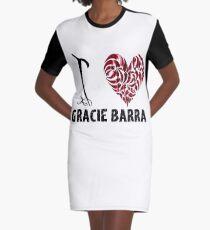 Gracie Barra T Shirt Design I Love Gracie Barra Graphic T-Shirt Dress