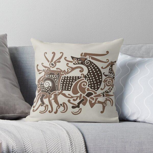 Viking Great Beast Throw Pillow