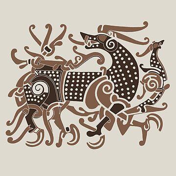 Viking Great Beast by amandamakepeace
