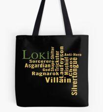 Bolsa de tela Quien es Loki?