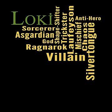 Who is Loki? by amandamakepeace