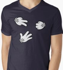 Rock, Paper, Scissors Mens V-Neck T-Shirt