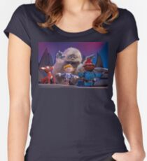 Bumble & Friends Women's Fitted Scoop T-Shirt