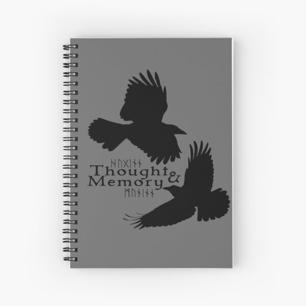 Thought & Memory Spiral Notebook