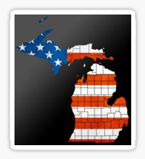 The United State of Michigan Sticker