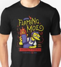 Flaming Classic Drink Unisex T-Shirt
