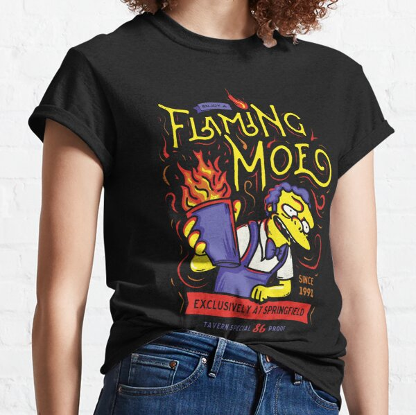Flaming Classic Drink Classic T-Shirt