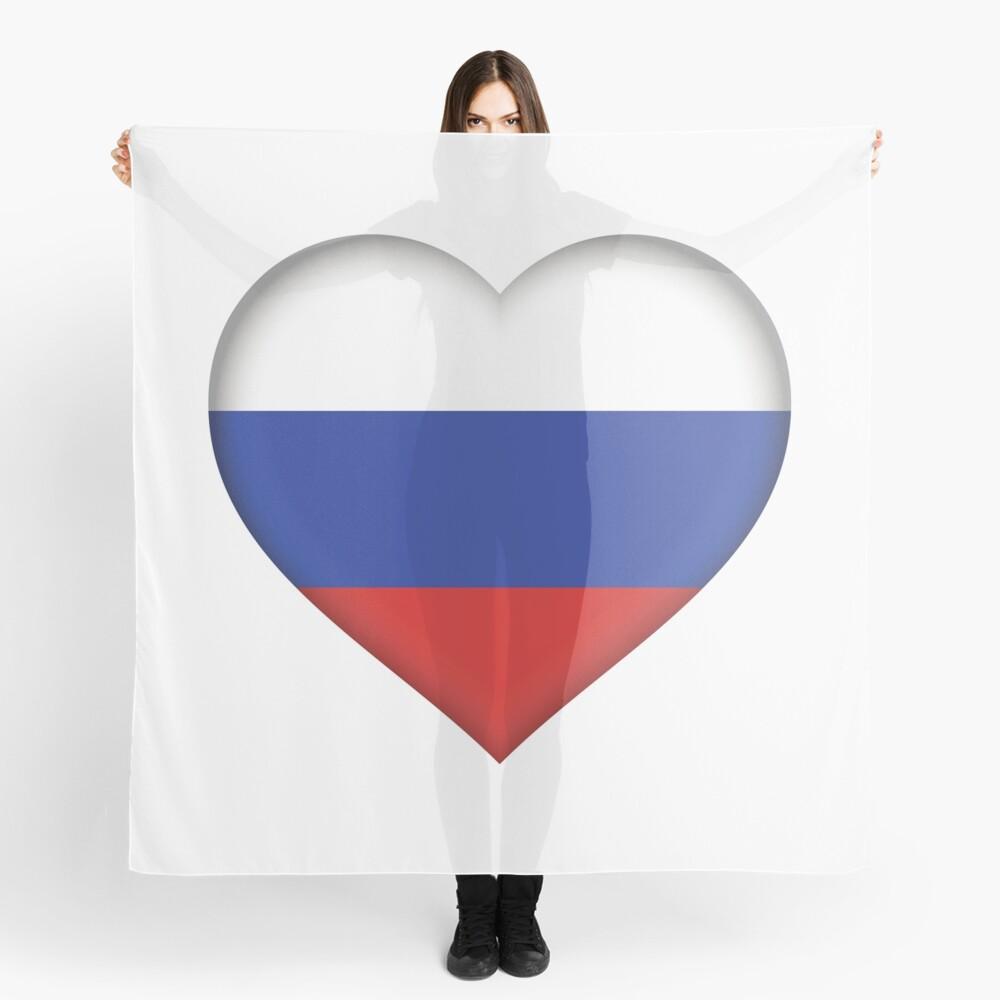 Russian Flag Scarf