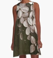 Hortensie A-Linien Kleid