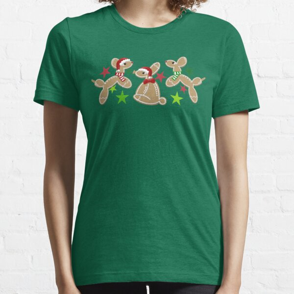 Balloon Animal Holiday Cookies Essential T-Shirt