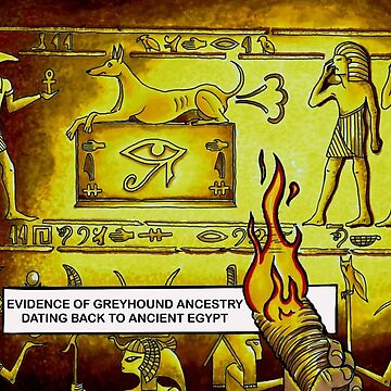 Hounds In Ancient Egypt by andrewledwith