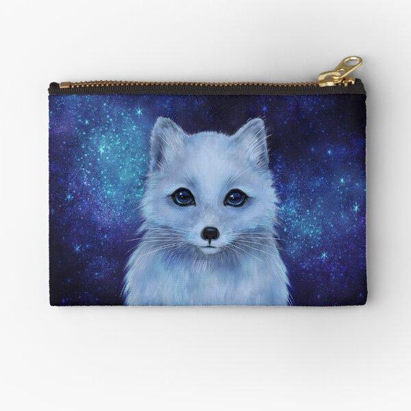 Arctic Fox Zipper Pouch