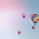 4 Hot Air Balloons by Bethany Helzer