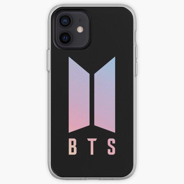 BTS LOVE YOURSELF BLACK LOGO BANGTAN BOYS (BEYOND THE SCENE) iPhone Soft Case