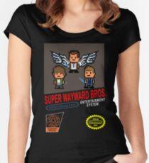 Super Wayward Bros. Women's Fitted Scoop T-Shirt