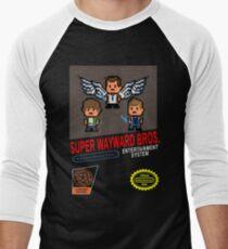 Super Wayward Bros. Men's Baseball ¾ T-Shirt