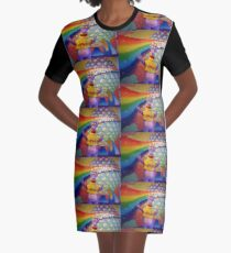 Figment Live Graphic T-Shirt Dress