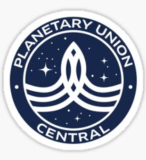 The Orville - Planetary Union Central - Logo Sticker