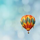 Green & Red Balloon by Bethany Helzer