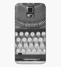 Vintage Typewriter Study Case/Skin for Samsung Galaxy