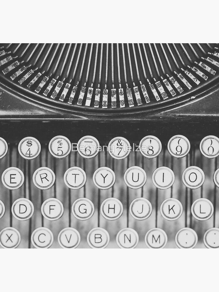 Vintage Schreibmaschinenstudie von riotjane