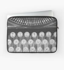 Vintage Typewriter Study Laptop Sleeve