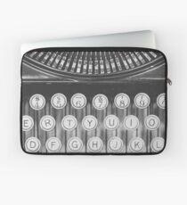 Vintage Schreibmaschinenstudie Laptoptasche