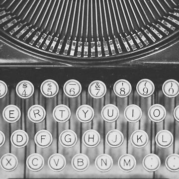 Vintage Typewriter Study by riotjane