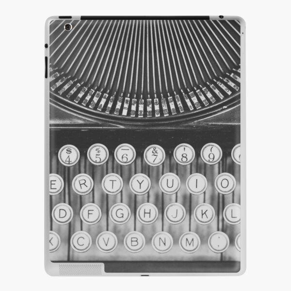 Vintage Typewriter Study iPad Skin