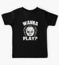 Camiseta para niños ¿QUIERES JUGAR?