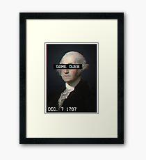 America's Game Over Framed Print