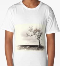 Lonely tree in the mountains Long T-Shirt