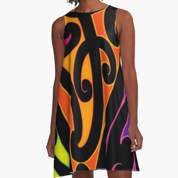 Puhoro A-Line Dress