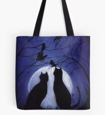 Listen to the Silence at Night Tote Bag