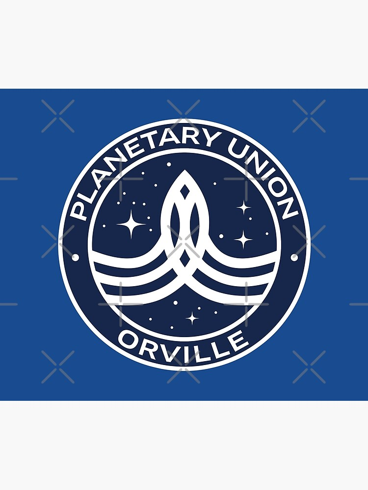 The Orville -  Planetary Union Logo by createdezign