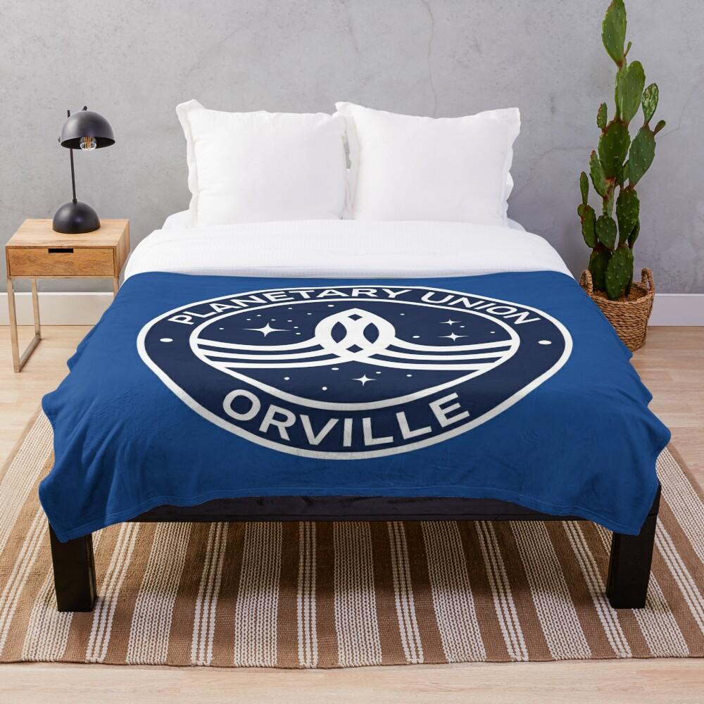 The Orville -  Planetary Union Logo Throw Blanket