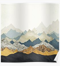 Distant Peaks Poster