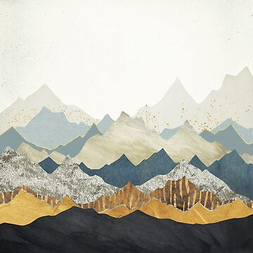 Distant Peaks by spacefrogdesign